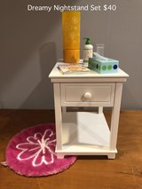 American Girl Dreamy Nightstand Set in Naperville, Illinois