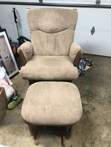 rocking chair with ottoman in Lockport, Illinois