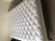 Queen Mattress with Spring Box, Frame and Topper in Bolingbrook, Illinois