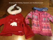 American Girl Holiday Sweaters and Headbands in Naperville, Illinois
