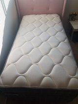 Twin bed(mattress and box spring, frame and headboard in Fort Polk, Louisiana
