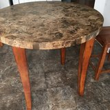 Counter Height Granite Table in Naperville, Illinois