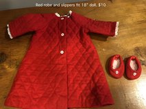 "Red Nightgown and Slippers fit 18"" doll in Naperville, Illinois"