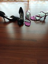 Dress  ball heels shoes size 7.5-8 in Camp Lejeune, North Carolina