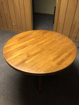 Solid Oak Table in Naperville, Illinois