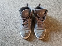 Mens Adidas High Tops - 12 - Grey / White in Fort Campbell, Kentucky