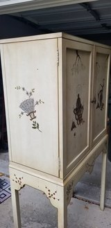 Asian theme cabinet or armoire in Naperville, Illinois