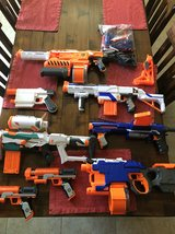 Nerf guns in Travis AFB, California