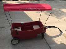 Step 2 red wagon with canopy in Naperville, Illinois