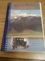 Unused Montana Homestyle Cooking Recipe Book in Fort Leonard Wood, Missouri
