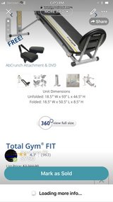total gym fit brand new in Camp Lejeune, North Carolina