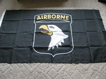101st Airborne Flag 3' X 5' in original package in Fort Knox, Kentucky