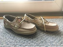 Never worn!  Girls Shoes - Sperry Bluefish Loafers - Sz 13.5 in Bolingbrook, Illinois