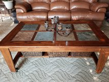 Coffee table and matching end table in Naperville, Illinois