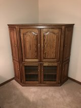 Solid Oak Counter Cabinet in St. Charles, Illinois