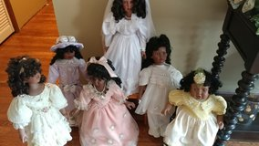 Doll collection in Fort Riley, Kansas