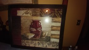 Nice Picture in frame with glass in Fort Riley, Kansas