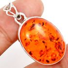 New - Amber 925 Sterling Silver Pendant (Includes a chain) in Alamogordo, New Mexico
