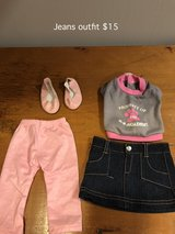 """18"""" Doll Jean Outfit with Shoes in Plainfield, Illinois"""
