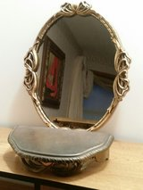Hanging Mirror with Matching Shelf in Fort Leonard Wood, Missouri