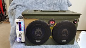Ammo Box Portable Stereo in Barstow, California