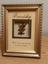 Friendship Hanging or Tabletop Plaque in Fort Leonard Wood, Missouri