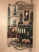 Oil Painting-Cafe in Spring, Texas