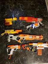 Nerf guns in Fort Polk, Louisiana