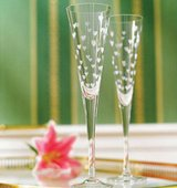 Pair of NEW Waterford Marquis champagne flutes in St. Charles, Illinois