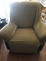 Sure Fit Stretch Pique Recliner Slipcover Gold 1 Piece in St. Charles, Illinois