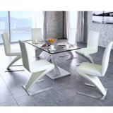 Design Dining Chairs Seating Set Dinning Set 6 pcs. (White) in Ramstein, Germany