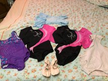 set of leotards for a dancing girl in age 10/12 in Ramstein, Germany