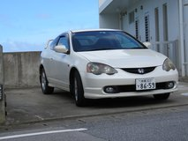 Honda Integra in Okinawa, Japan