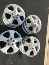 Set of 4 USED Acura 17X8 RL Aluminum wheel/ rims in Fort Carson, Colorado