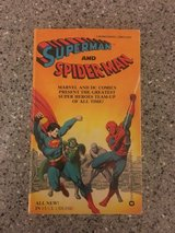 Superman and Spider-Man 1981 Rare in Okinawa, Japan