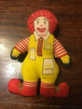 McDonalds plush toy 1984 in Okinawa, Japan