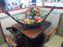 DECORATIVE BASKET WITH FRUIT in Cherry Point, North Carolina