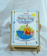 Disney Winnie The Poohs Rainy Day Activities Hard Cover Book Age 4 - 7 Games & Activities in Joliet, Illinois