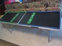Glow Pong lighted Beer pong table approx 6 1/2' x 2' in El Paso, Texas