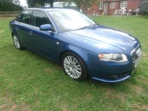 AUDI A4 S LINE 2.0 TDI 2006 in Lakenheath, UK