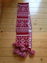 Red and white scarf in Wiesbaden, GE