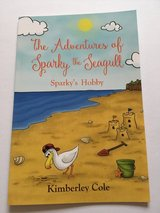 Local author new Children's Book The Adventures of Sparky the seagull: Sparky's Hobby in Lakenheath, UK