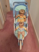 "American Girl Bitty Baby Double Stroller For 15 and 18"" Dolls with Manual in Cherry Point, North Carolina"