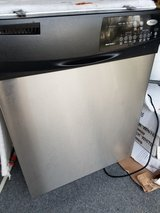 Stainless Steel Whirlpool dishwasher in Camp Lejeune, North Carolina