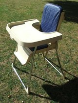 Vintage Folding Fisher Price High Chair in Lakenheath, UK