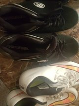 Cleats $30 for both in Keesler AFB, Mississippi