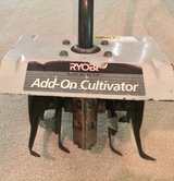 Ryobi, Add-On Cultivator Roto-Tiller Attachment, great for weeding flowerbeds, gardens, planting in Katy, Texas
