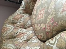 Side chair and ottoman in Oswego, Illinois