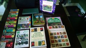 Gardening Lot of Books in Spring, Texas