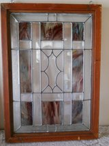 Old stained Glass in Yucca Valley, California